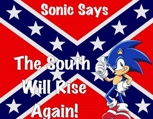 Sonic is a Confederate?