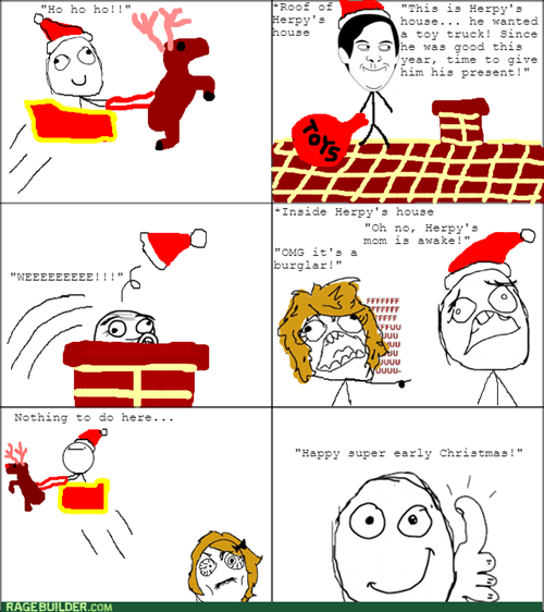 christmas,nothing to do here,santa