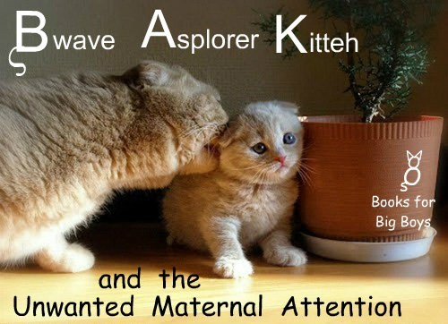 Another Bwave Asplorer Kitteh book hits the stands in time for Cwissmus!