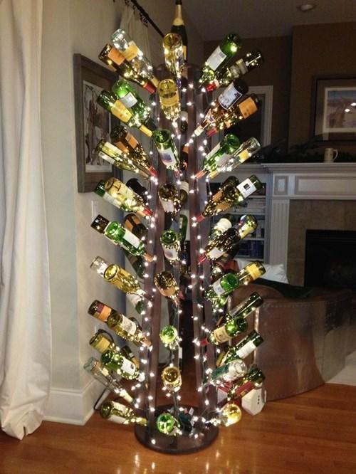 bottle,christmas,wine,funny