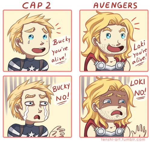 captain america,loki,winter soldier,Thor