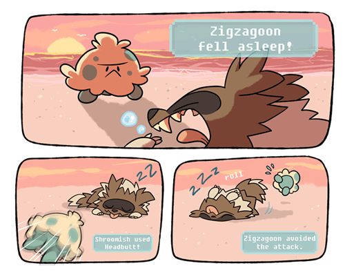 Zigzagoon Cheated and Used Roll Over