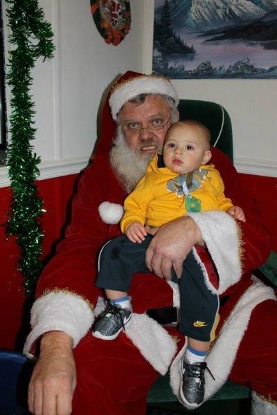 Santa Isn't Always Jolly