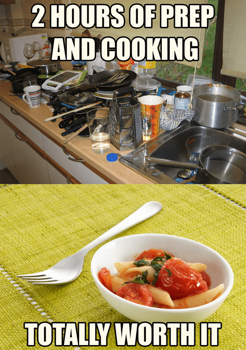 This Happens Every Time You Cook