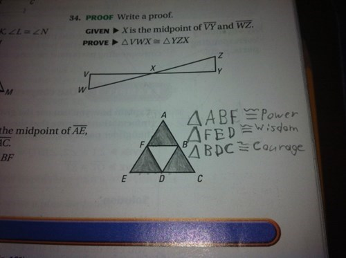 Who Needs Math When You Have the Tri-Force