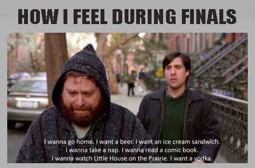 This Is How Finals Week Feels