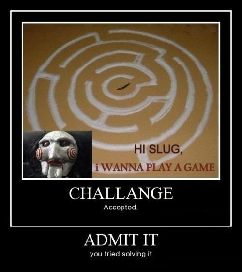 saw,salt,maze,funny,slug