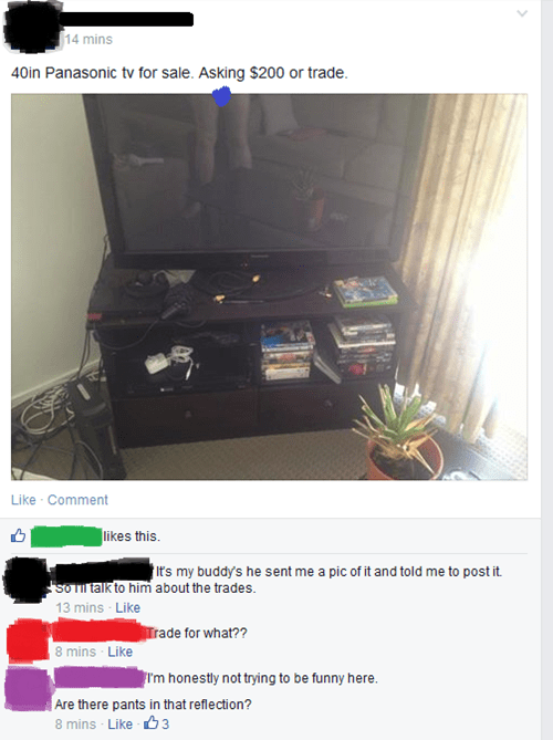 whoops,accidental sexy,for sale,TV