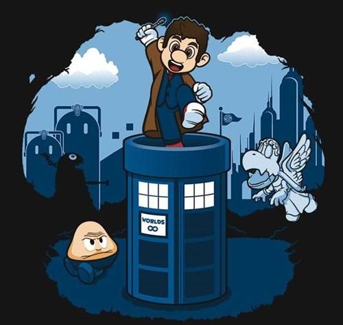 mashup,doctor mario,the doctor,tshirts,mario