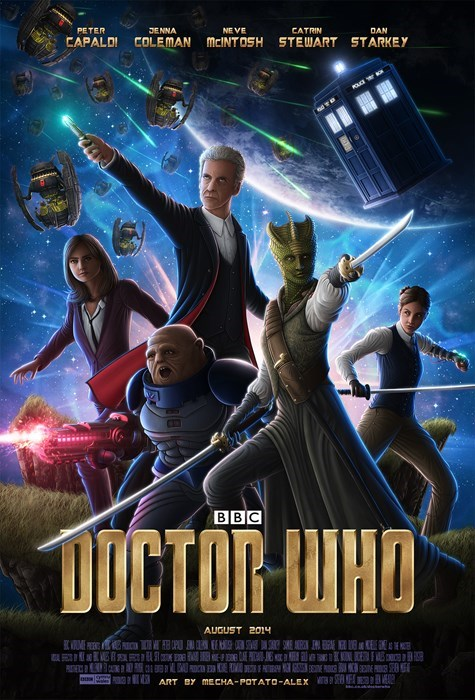 clara oswin oswald,mashup,guardians of the galaxy,12th Doctor