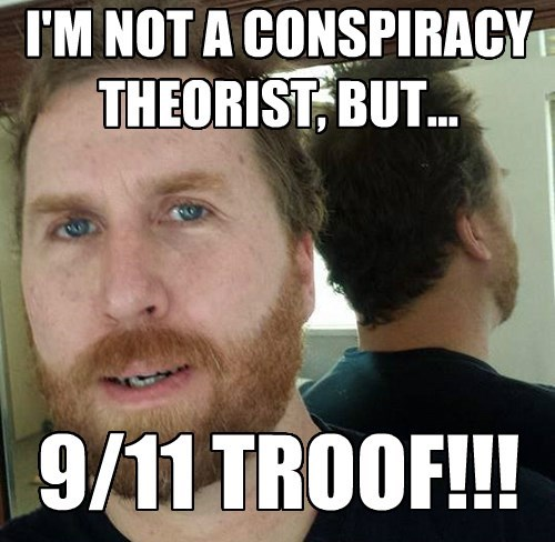 I'M NOT A CONSPIRACY THEORIST, BUT...