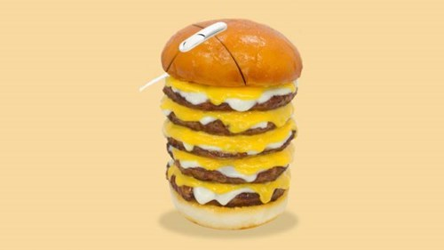 A Fast Food Chain in Japan is Offering a Burger-Mouse as a Part of a Promotional Deal!