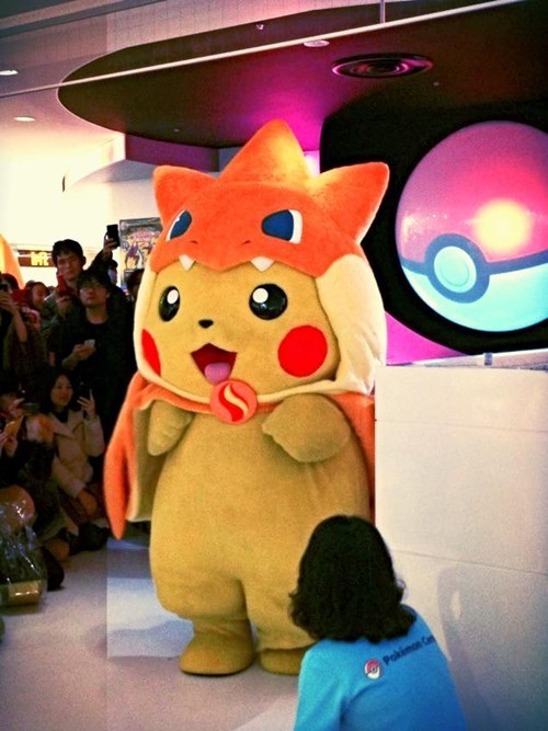 Mega Pikazard Y: The Ultimate Mascot