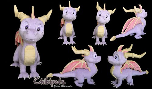 Best Spyro Plush Ever!