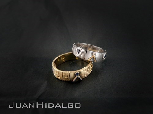 Stargate Wedding Rings