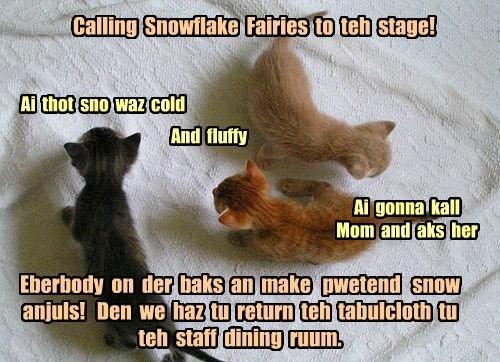 KKPS Pageant - Snowflake Fairy Scene