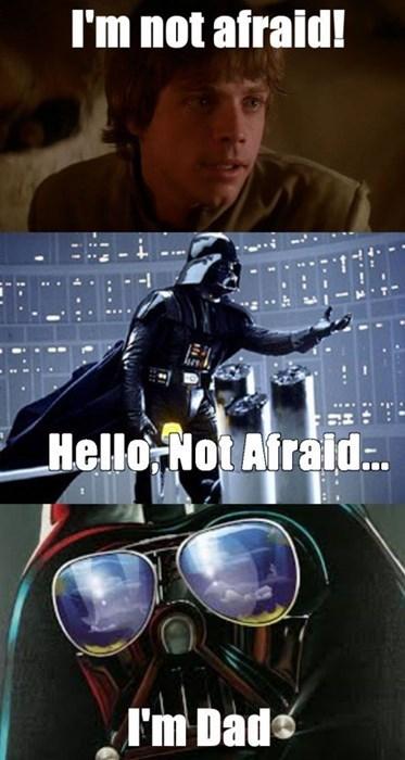 Even Darth Vader Tells Dad Jokes