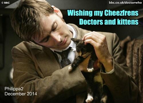Wishing my Cheezfrens Doctors and kittens
