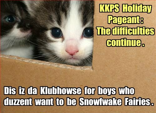 KKPS Pageant: More problems.