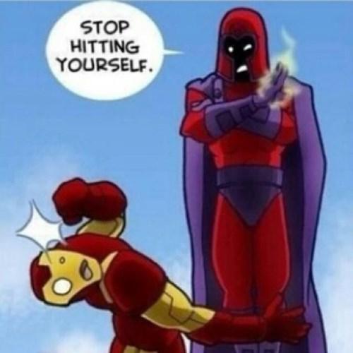 Iron Man Vs Magneto