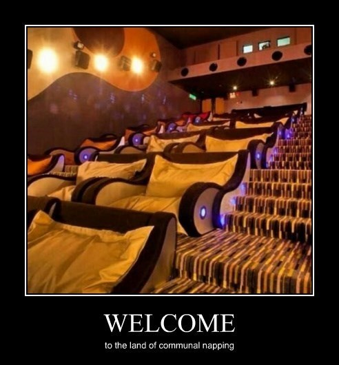 napping,theater,funny
