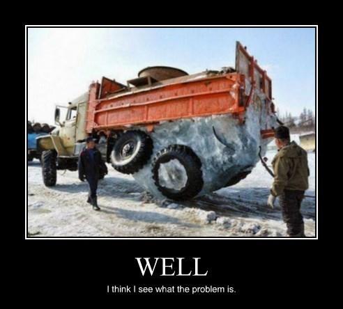 wheels,truck,broken,frozen,funny