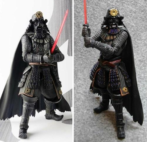 Darth Vader Is a Space Samurai