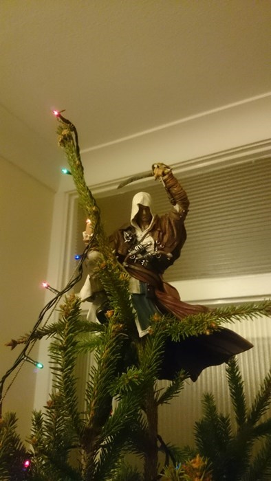 christmas,tree topper,pirates,assassins creed