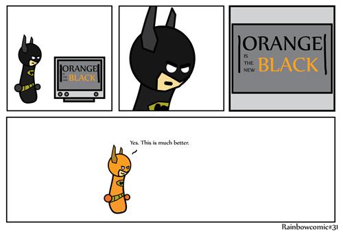 batman,web comics,orange is the new black