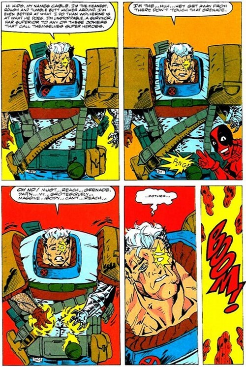 Cable's Weakness