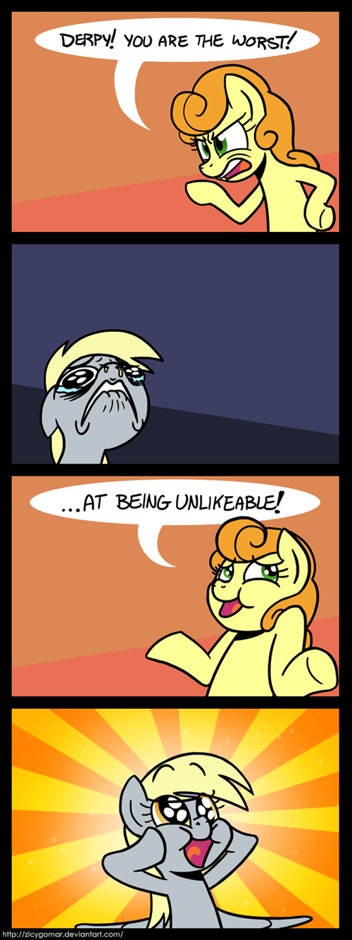 derpy hooves,worst pony,yes and no