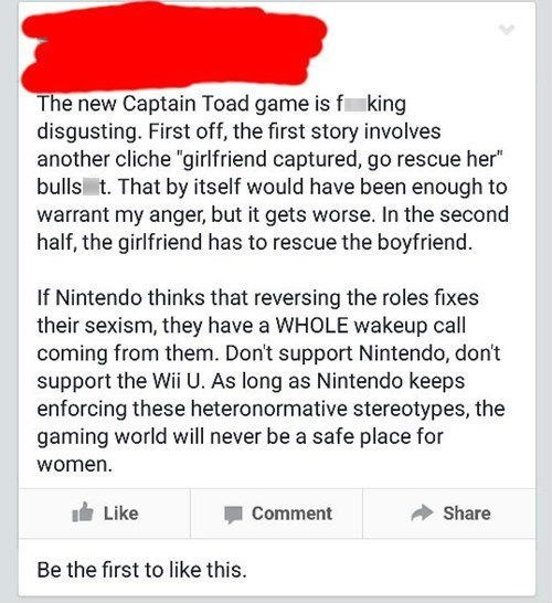 A Feminist Responds to Captain Toad