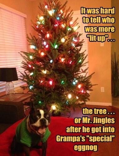 "Santa says ""YoHoHo and a Bottle of Fun!"""