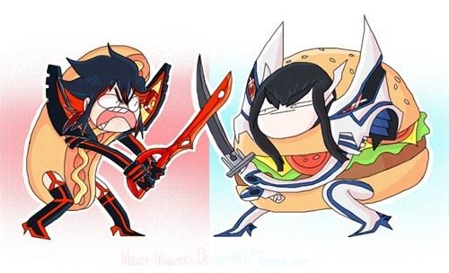 anime,fan art,kill la kill