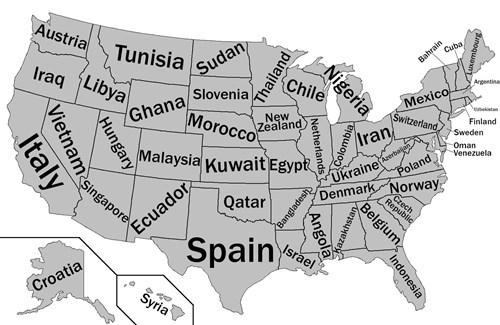GDP,us states