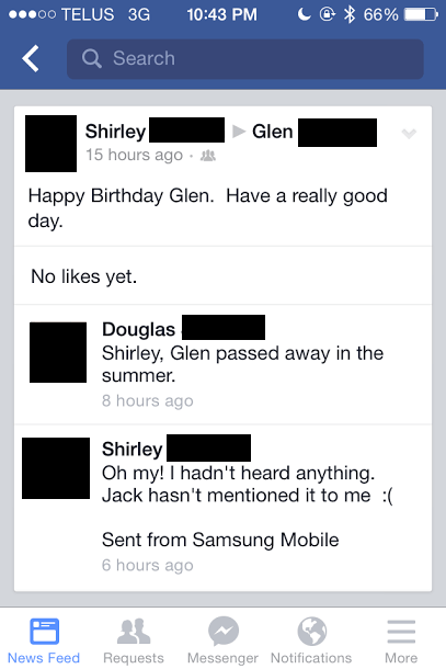facebook,old people