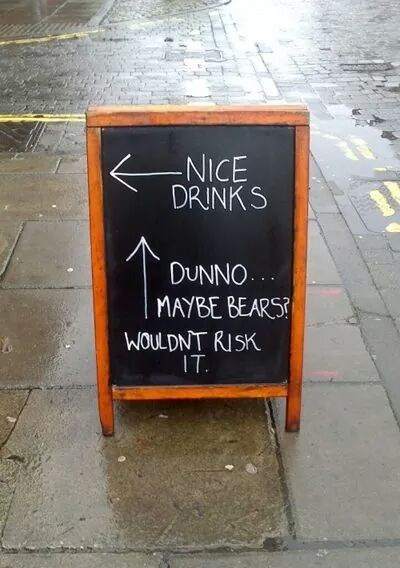 business signs,bar signs