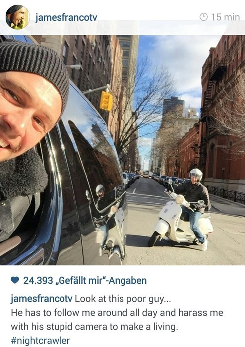 instagram,James Franco,paparazzi