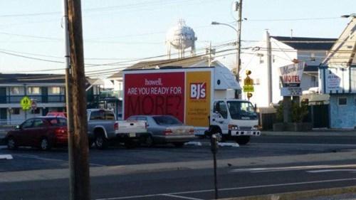 advertisement,monday thru friday,truck