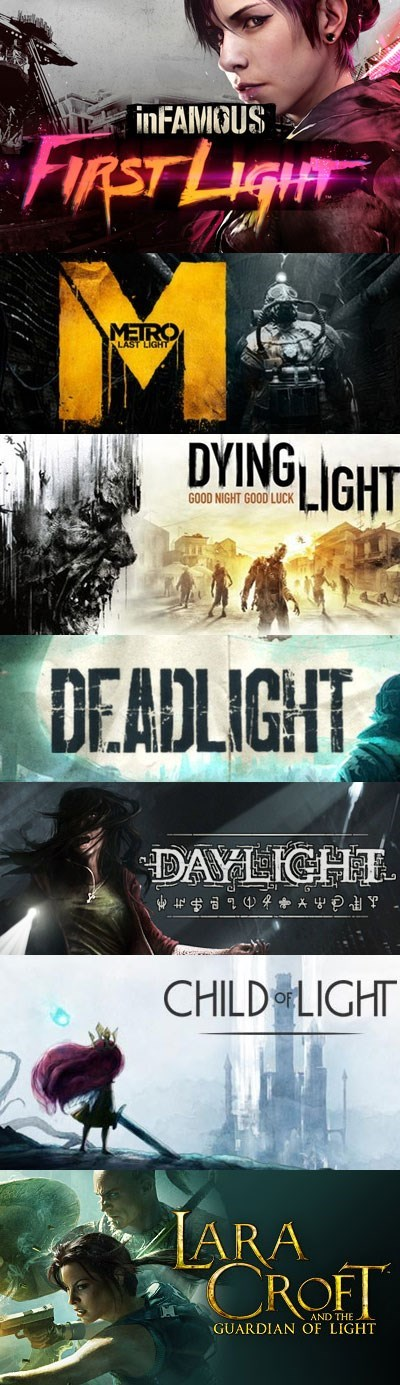 "Wonder What the Next Game in the ""Light"" Series Will Be?"