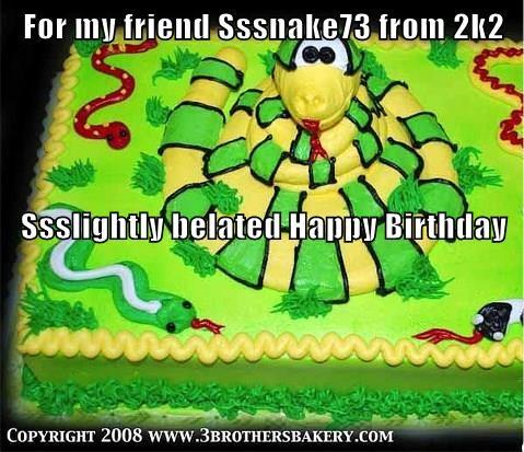 For my friend Sssnake73 from 2k2 Ssslightly belated Happy Birthday