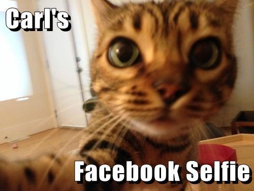 Carl's  Facebook Selfie