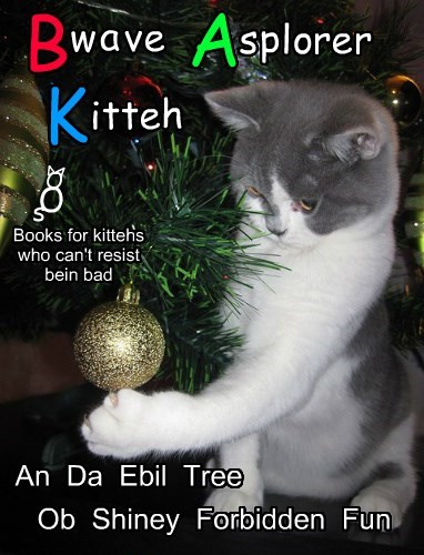 A new Bwave Asplorer Kitteh Book!  Just in Time for Cwissmus!