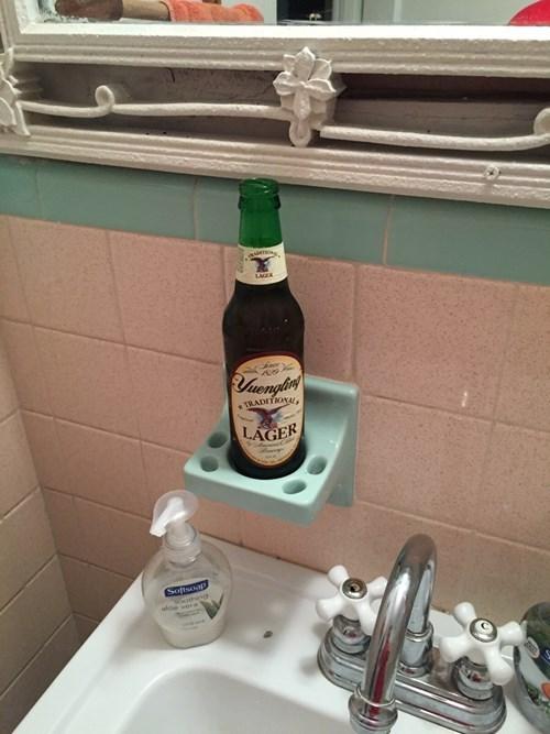 beer,bathroom,toothpaste,funny