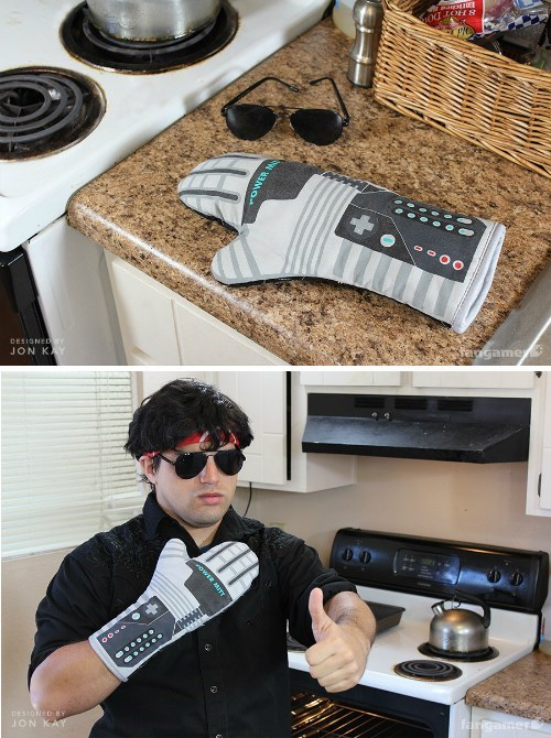 I Love The Glove... And Kitchen Safety