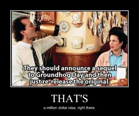 awesome,groundhog day,funny,bill murry