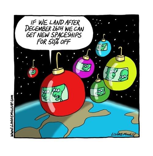 christmas,Aliens,web comics