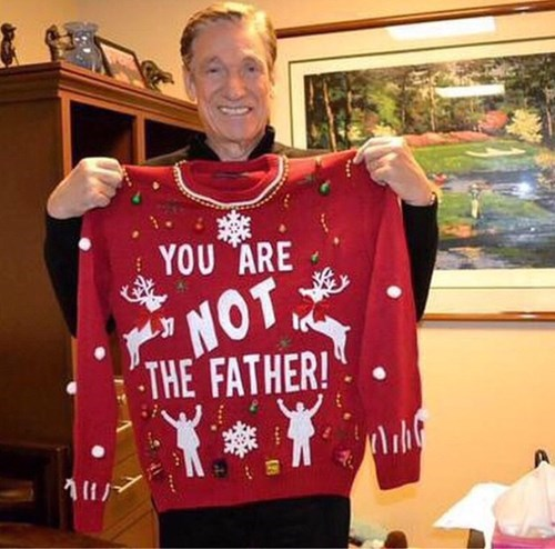 Maury's Got the Sweater That All the Guys Want