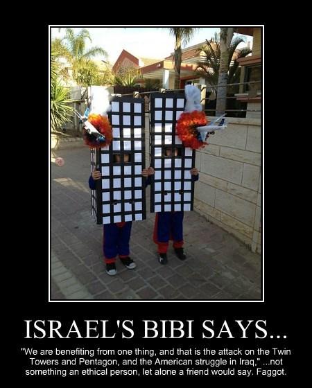 ISRAEL'S BIBI SAYS...