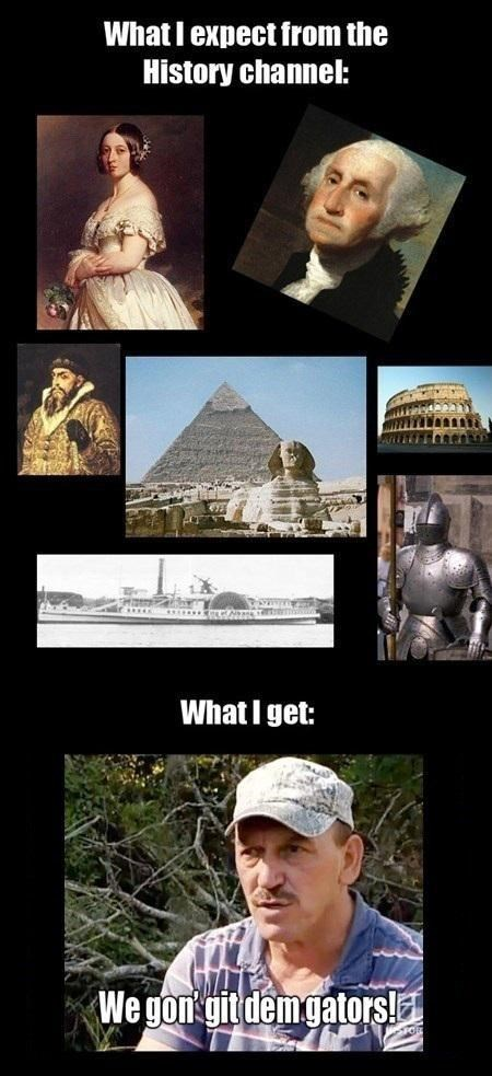 History Channel, What Happened to You?